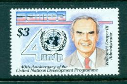 Samoa 1990 UN Development Program MUH Lot54681 - Samoa