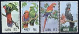 Samoa 1991 Birds. Parrots MUH - Samoa