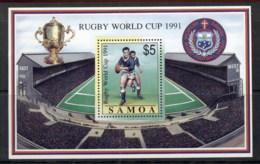 Samoa 1991 Rugby World Cup MS MUH - Samoa