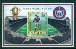 Samoa 1991 Rugby World Cup MS MUH Lot54670 - Samoa