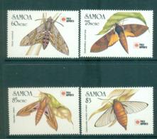 Samoa 1991 Samoan Hawk Moths MUH Lot54672 - Samoa