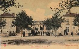 Militaria : Caserne Bon : Romans Drome ( 75é Rgt. Inf. ) Colorisée - Caserme