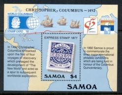 Samoa 1992 Discovery Of America, Columbus MS MUH - Samoa