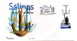 Carta Con Matasellos Commemorativo  Museo De Anclas. Asturias. - 1931-Hoy: 2ª República - ... Juan Carlos I