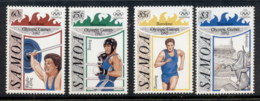 Samoa 1992 Summer Olympics Barcelona MUH - Samoa
