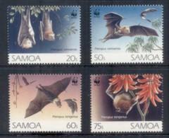 Samoa 1993 WWF Fruit Bats MUH - Samoa