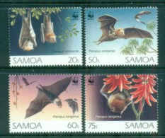 Samoa 1993 WWF Fruit Bats MUH Lot76276 - Samoa