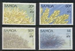Samoa 1994 Marine Life Corals MUH - Samoa