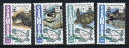Samoa 1995 Marine Life, Year Of The Sea Turtle MUH - Samoa