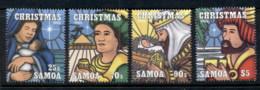 Samoa 1995 Xmas MUH - Samoa