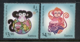 Samoa 2016 New Year Of The Monkey MUH - Samoa