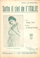 SPARTITO - SOTTO IL CIEL DE L'ITALIE - Spartiti