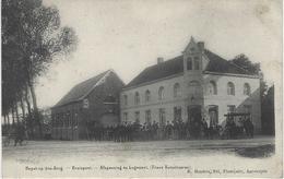 HEYST-OP-DEN-BERG, KRUISPUNT, AFSPANNING EN LOGEMENT FRANS VERSCHUEREN - Heist-op-den-Berg