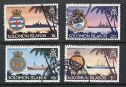 Solomon Is 1981 Ships & Crests FU - Isole Salomone (1978-...)