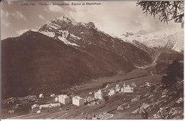 SAAS-FEE - EGINER ET ALLALINHORN - 1919 - VS Valais