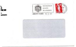 RHIN / Bas - Dépt N° 67 = LINGOLSHEIM TANNERIES 1993 = FLAMME Type II = SECAP Illustrée ' PARC CLUB / Nouveaux Espaces ' - Postmark Collection (Covers)