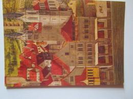 Zwingli 1484-1984. Das Grossmunster Zur Zeit Zwinglis. Tafelgemalde Von Hans Leu Dem Alteren. Wiedergabe Nach Der 1937 - Peintures & Tableaux