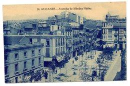 Tarjeta Postal Alicante - Avenida De Mendez Nuñez- - Alicante