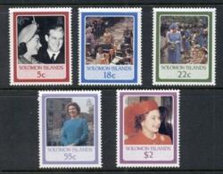Solomon Is 1986 QEII 60th Birthday MUH - Solomon Islands (1978-...)