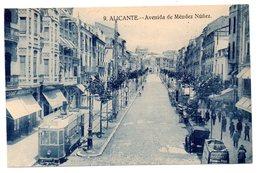 Tarjeta Postal Alicante - Avenida De Mendez Nuñez-1 - Alicante
