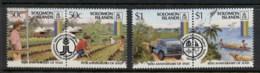 Solomon Is 1987 Intl. Fund For Agrigultural Development IFDA Prs MUH - Solomoneilanden (1978-...)