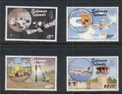 Solomon Is 1987 Transportation & Telecommunication MUH - Solomoneilanden (1978-...)