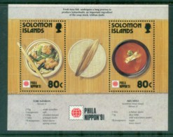 Solomon Is 1991 Phila Nippon MS MUH Lot80738 - Isole Salomone (1978-...)