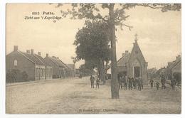 Putte Zicht Aan't Kapelleken Oude Postkaart Geanimeerd - Putte