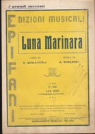 SPARTITO - LUNA MARINARA - Spartiti