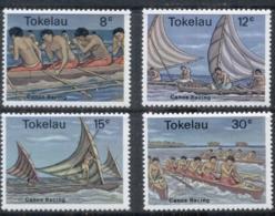 Tokelau Is 1978 Canoe Racers MUH - Solomon Islands (1978-...)