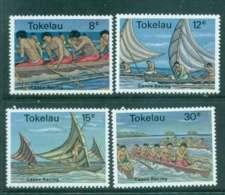 Tokelau Is 1978 Canoe Races MUH Lot43433 - Solomon Islands (1978-...)