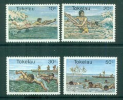 Tokelau Is 1980 Swimming MUH Lot81435 - Solomon Islands (1978-...)