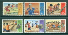 Tokelau Is 1983 Traditional Games MUH Lot81424 - Solomon Islands (1978-...)