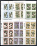Tokelau Is 1987 Plants & Flowers Blk6 MUH - Solomon Islands (1978-...)