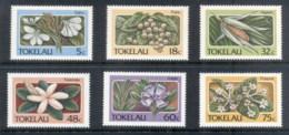 Tokelau Is 1987 Plants & Flowers MUH - Solomon Islands (1978-...)