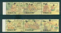 Tokelau Is 1990 Mens Handicrafts 2x Tr 3 MUH Lot52101 - Solomon Islands (1978-...)
