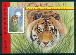 Tokelau Is 1998 New Year Of The Tiger MS MUH - Solomon Islands (1978-...)