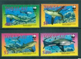 Tokelau Is 2002 WWF Pelagic Thresher Shark MUH Lot73228 - Solomon Islands (1978-...)
