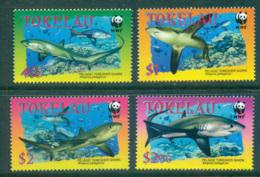 Tokelau Is 2002 WWF Sharks MUH Lot64107 - Solomon Islands (1978-...)