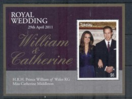 Tokelau Is 2011 Royal Wedding William & Kate MS MUH - Solomon Islands (1978-...)