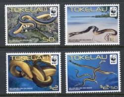 Tokelau Is 2011 WWF Yellow Bellied Sea Snake MUH - Solomon Islands (1978-...)