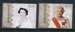 Tokelau Is 2012 QEII Diamond Jubilee MUH - Solomon Islands (1978-...)