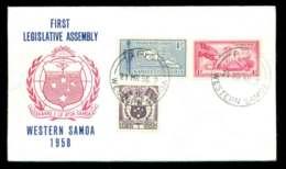 Tonga 1958 Legislative Assembly FDC Lot51661 - Tonga (1970-...)