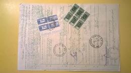 1983 BOLLETTINO PACCHI POSTALI DA ESTERO IRAN TABRIZ AIR MAIL A3 PAR AVION  200,1000 LIRE CAVALLINO - Postal Parcels