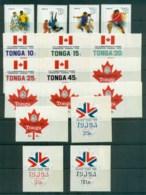 Tonga 1978 Commonwealth Games Edmonton Canada MUH Lot81451 - Tonga (1970-...)