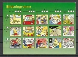 Deutschland Postkarte Humor (gesendet, Mit Briefmarke) - Humour