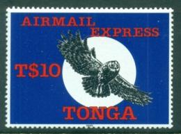 Tonga 1990 Airmail Express , Bird MLH - Tonga (1970-...)