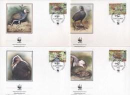 Tonga Niuafo'ou 1992 WWF Niuafo'ou Megapode, Bird FDC - Tonga (1970-...)