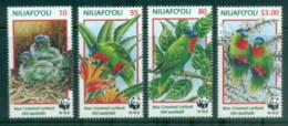 Tonga Niuafo'ou 1998 WWF Birds, Blue Crowned Lorikeet MUH - Tonga (1970-...)