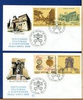 VATICANO - FDC  1984 - FDC FILAGRANO  -  ISTITUZIONI CULTURALI E SCIENTIFICHE VATICANE - FDC